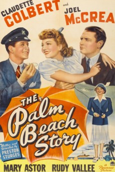 The Palm Beach Story - Movie Poster