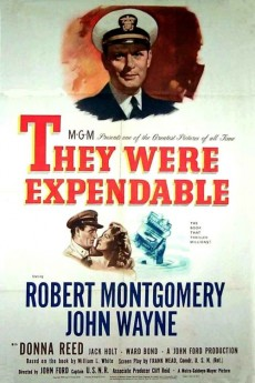 They Were Expendable - Movie Poster