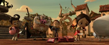 The Book of Life - Movie Scene 2