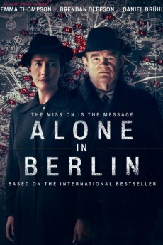 Alone in Berlin - Movie Poster