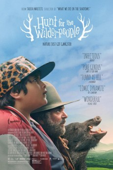 Hunt for the Wilderpeople - Movie Poster