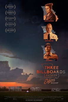 Three Billboards Outside Ebbing, Missouri - Movie Poster