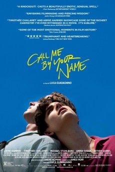 Call Me by Your Name - Movie Poster