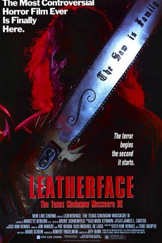Leatherface: Texas Chainsaw Massacre III - Movie Poster
