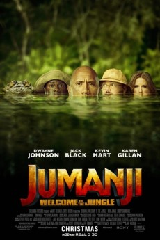 Jumanji: Welcome to the Jungle - Movie Poster