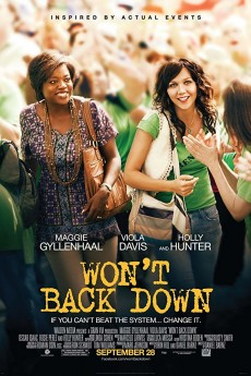 Won't Back Down - Movie Poster