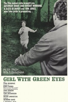 Girl with Green Eyes - Movie Poster