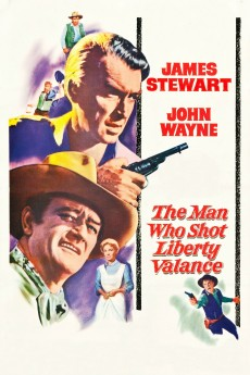 The Man Who Shot Liberty Valance - Movie Poster