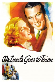 Mr. Deeds Goes to Town - Movie Poster