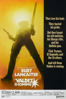 Valdez Is Coming - Movie Poster