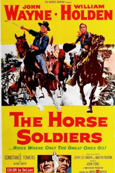 The Horse Soldiers - Movie Poster