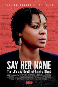 Say Her Name: The Life and Death of Sandra Bland - Movie Poster