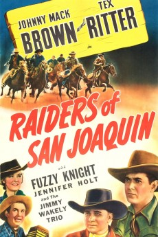 Raiders of San Joaquin - Movie Poster