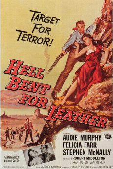 Hell Bent for Leather - Movie Poster
