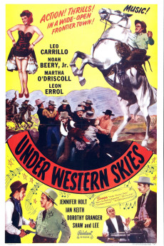 Under Western Skies - Movie Poster