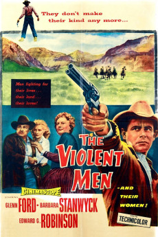 The Violent Men - Movie Poster