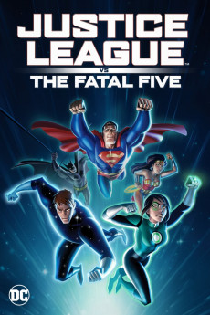 Justice League vs the Fatal Five - Movie Poster