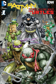 Batman vs. Teenage Mutant Ninja Turtles - Movie Poster