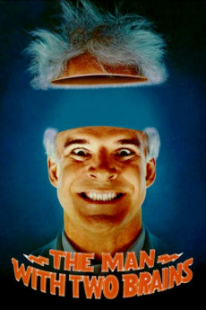 The Man with Two Brains - Movie Poster
