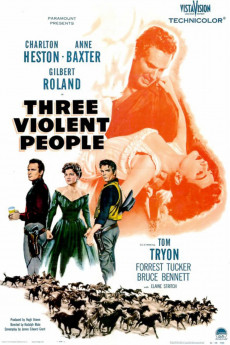 Three Violent People - Movie Poster