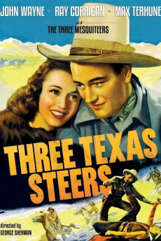 Three Texas Steers - Movie Poster
