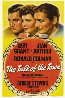 The Talk of the Town - Movie Poster