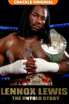 Lennox Lewis: The Untold Story - Movie Poster