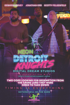 Neon Detroit Knights - Movie Poster