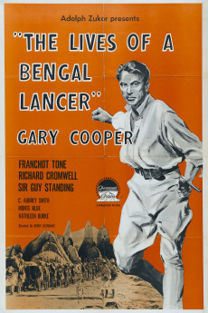 The Lives of a Bengal Lancer - Movie Poster