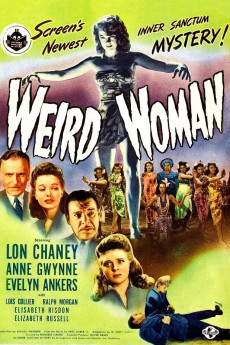 Weird Woman - Movie Poster