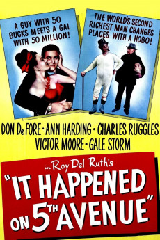 It Happened on Fifth Avenue - Movie Poster