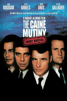 The Caine Mutiny Court-Martial - Movie Poster