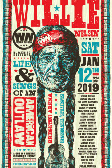 Willie Nelson American Outlaw - Movie Poster
