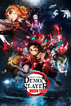 Demon Slayer the Movie: Mugen Train - Movie Poster